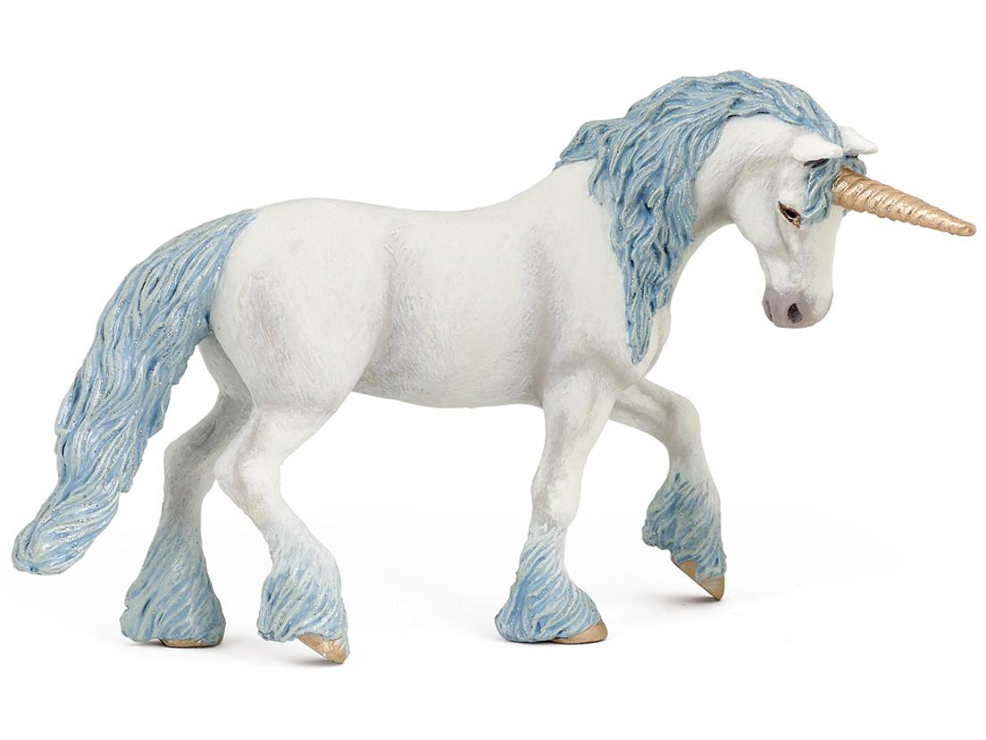 Enhörning Magisk Blå