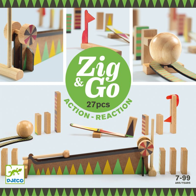 Zig and Go - 27 pcs