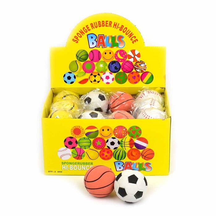 Rubber Ball High Bounce - Studdsboll 6 cm