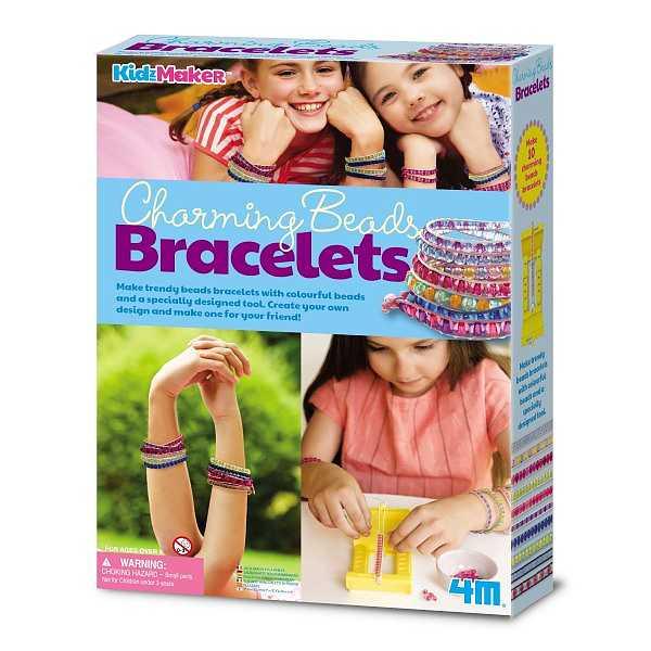 DIY Charming Beads Bracelets 4M KidzMaker