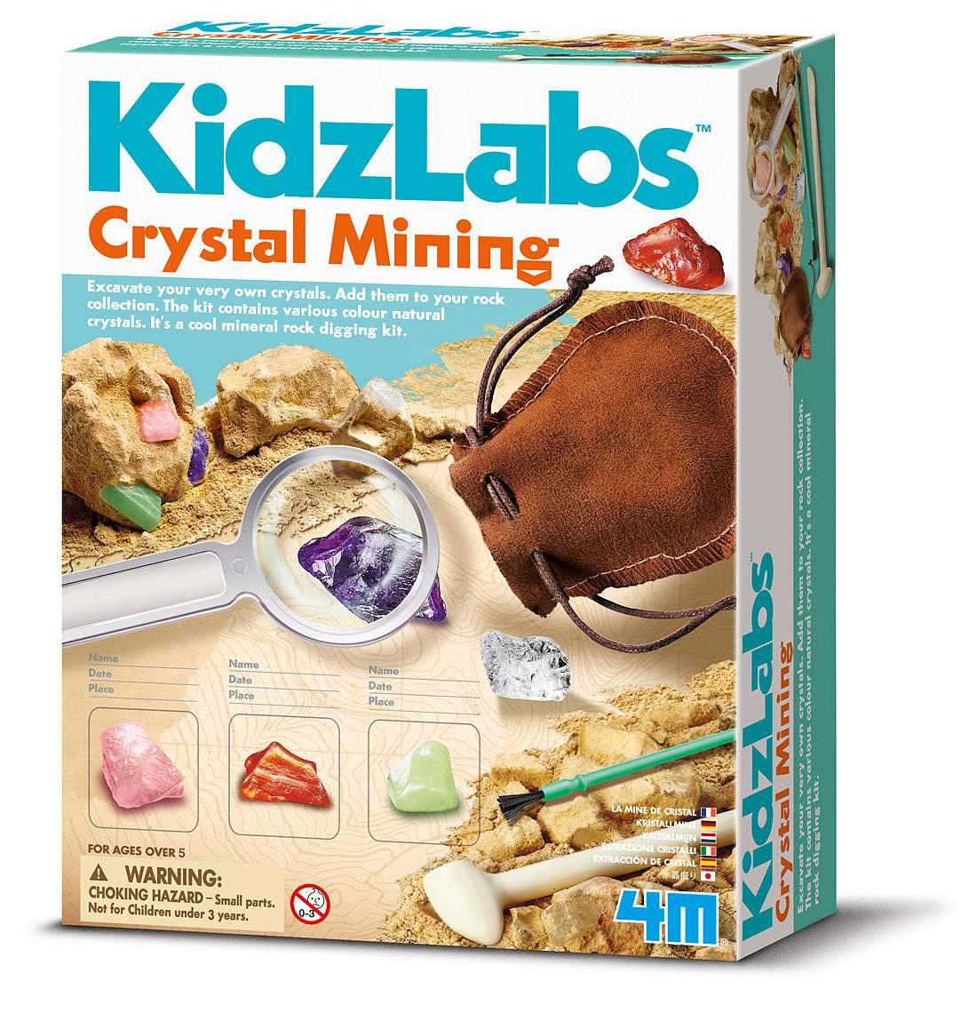 Crystal Mining 4M KidzLabs
