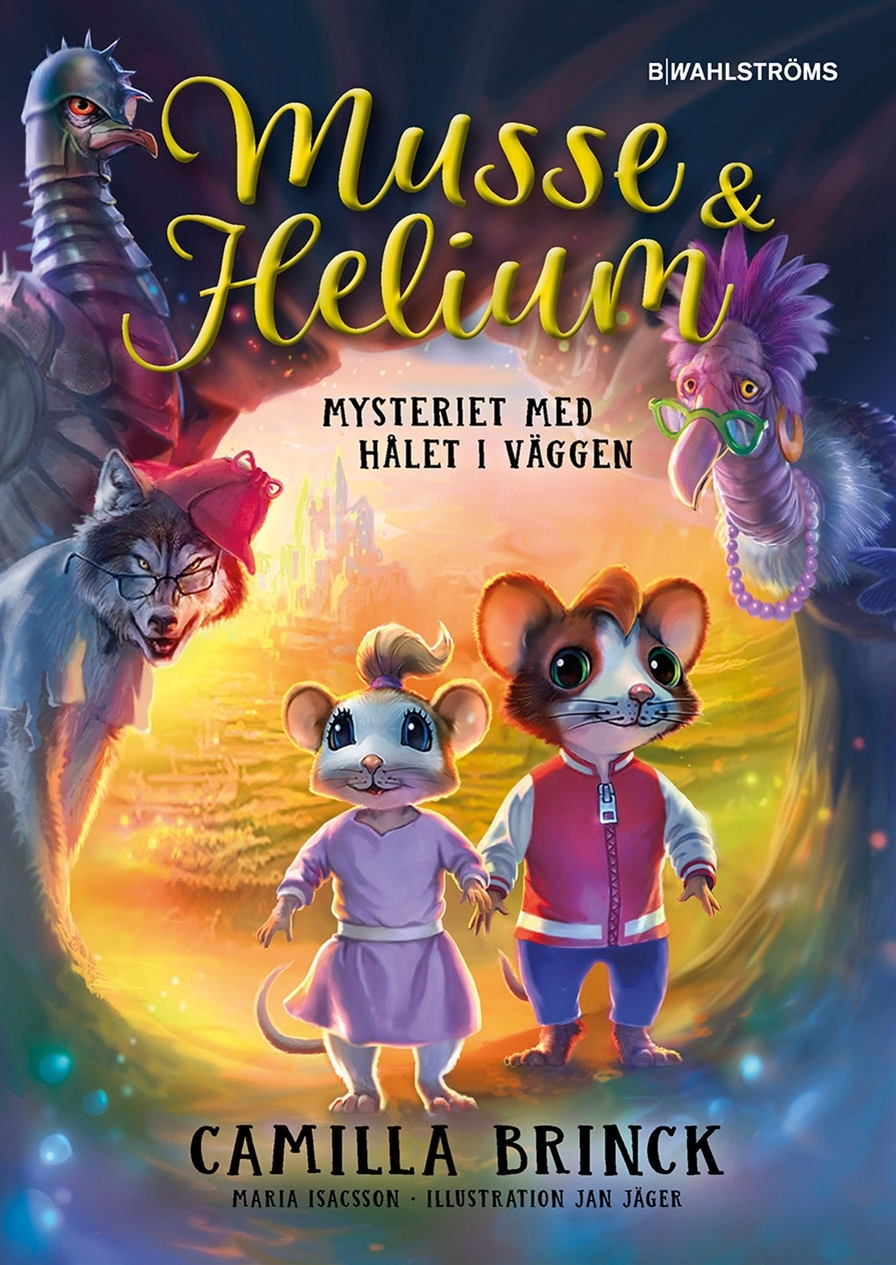 Musse & Helium, Mysteriet med hålet i väggen Del 1