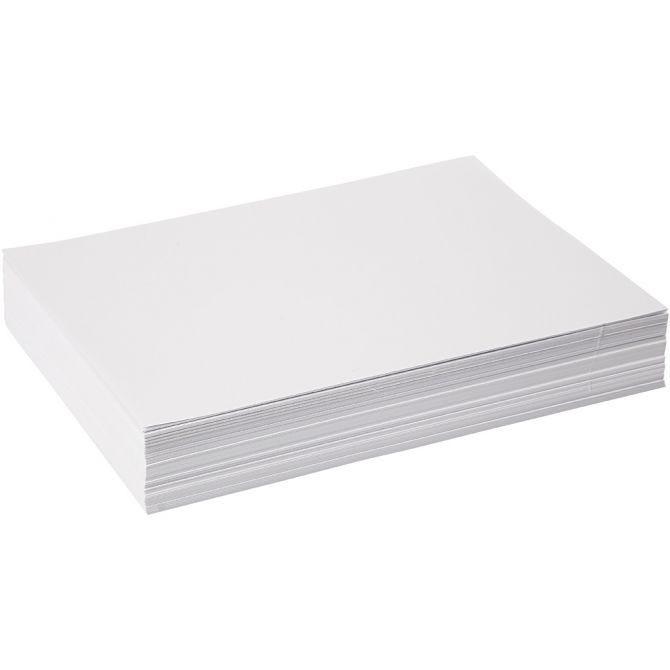 Kopieringspapper/Ritpapper A4 80g 500 ark