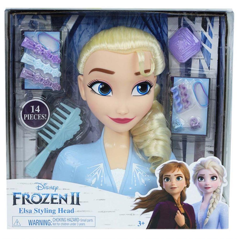 Hårdocka - Frozen 2 Elsa Styling Head