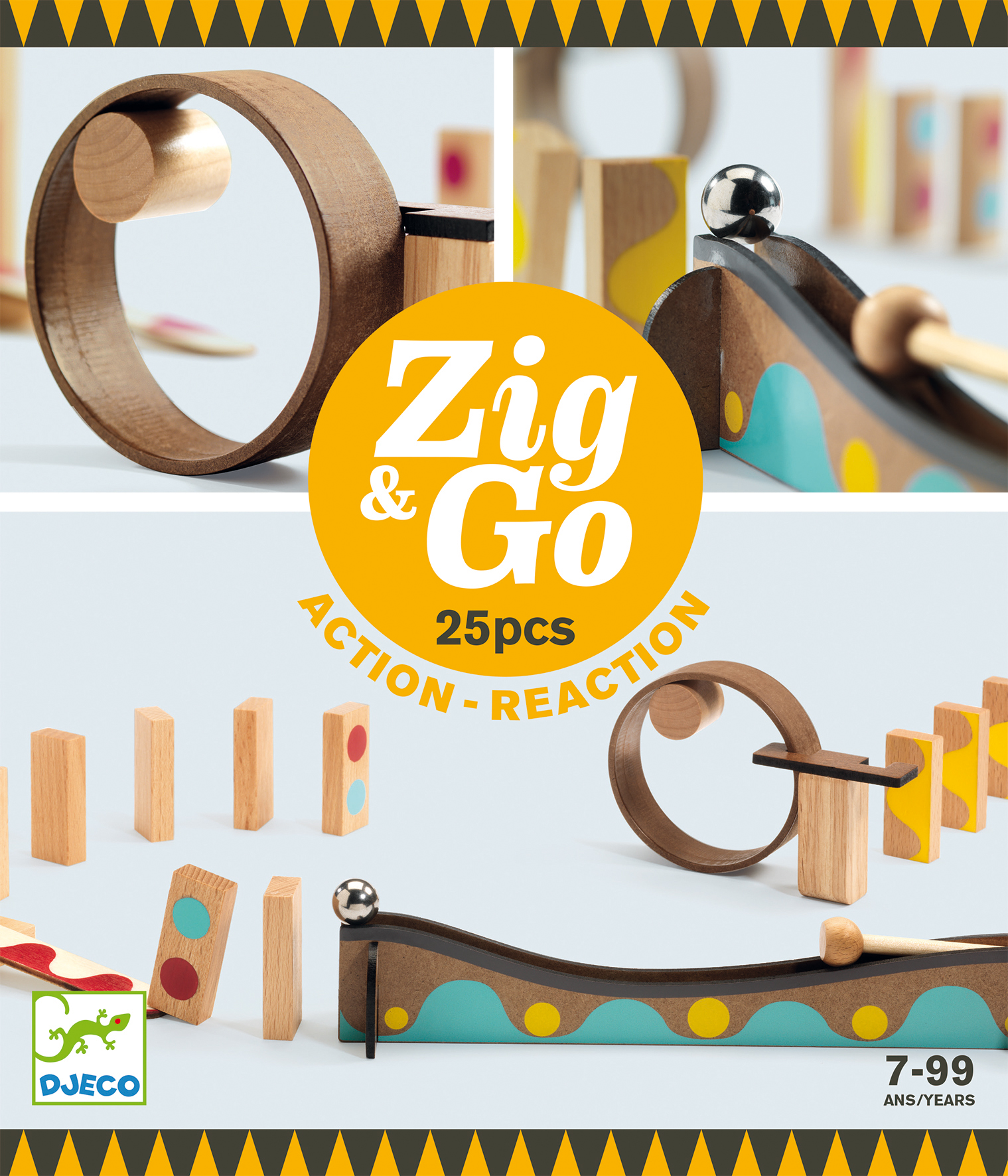 Zig and Go - 25 pcs