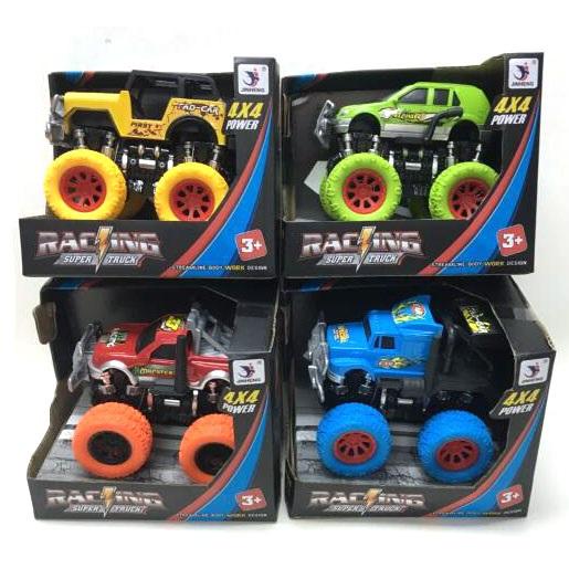 Monster Truck Car Friction