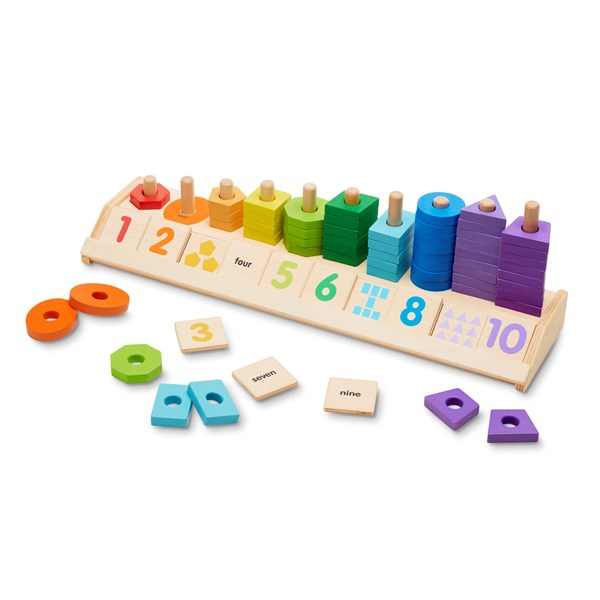 Counting Shape Stacker Melissa & Doug