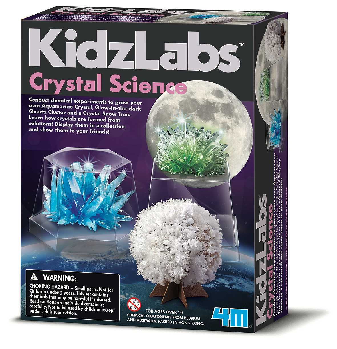 Crystal Science KidzLabs 4M