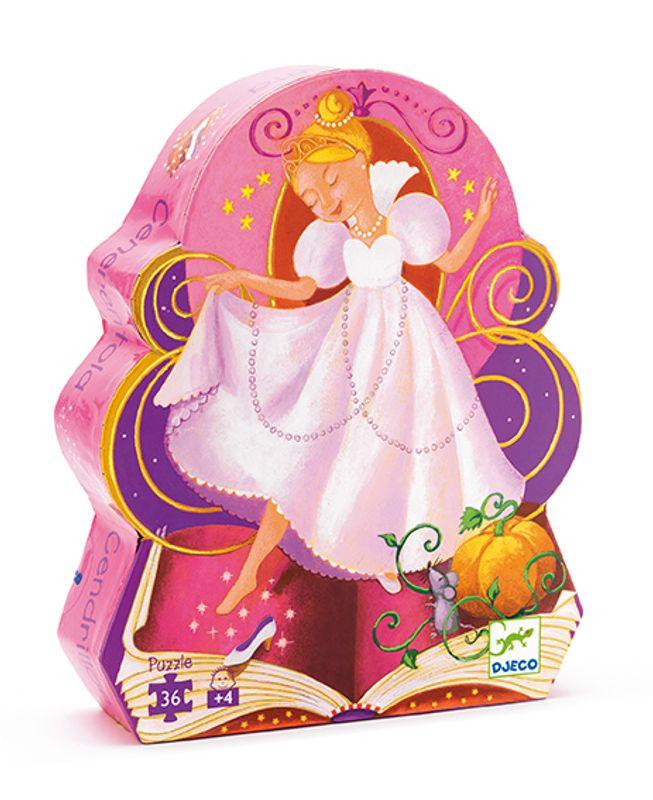 Cinderella Puzzle Djeco 36pc