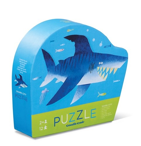 12 pc Mini Puzzle Shark