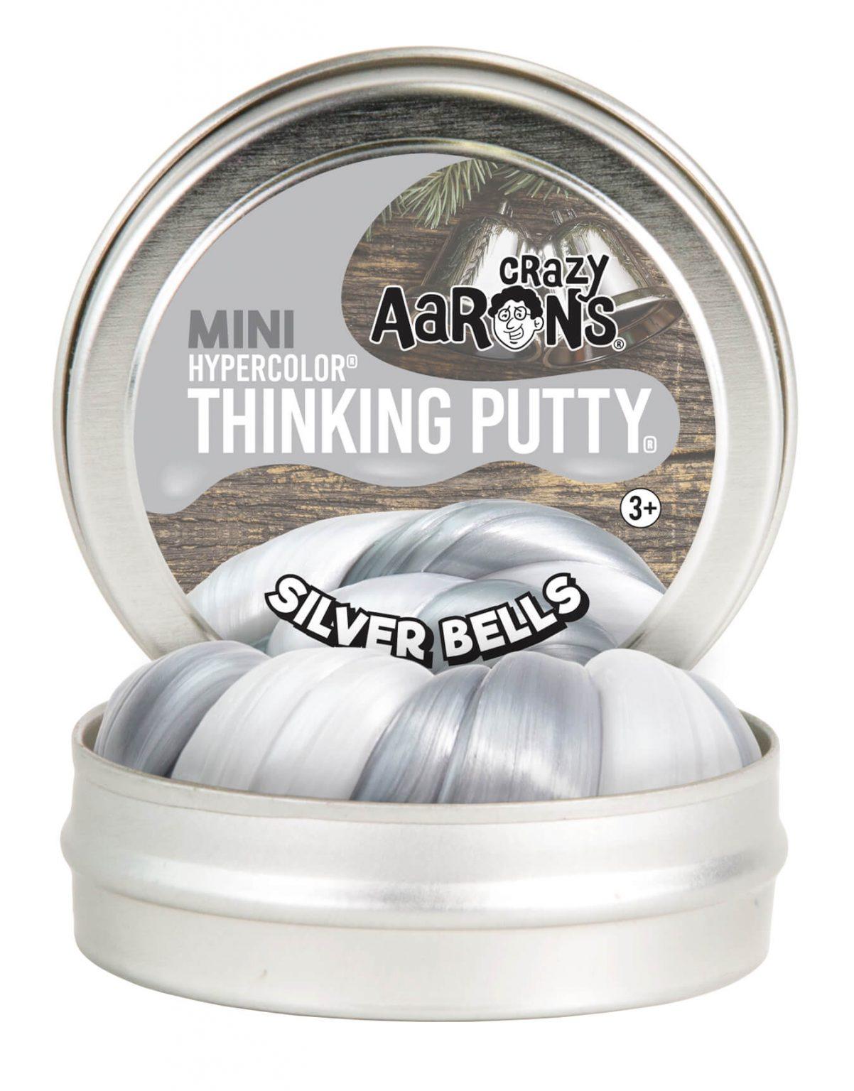 Crazy Aarons Putty Silver Bells 5 cm