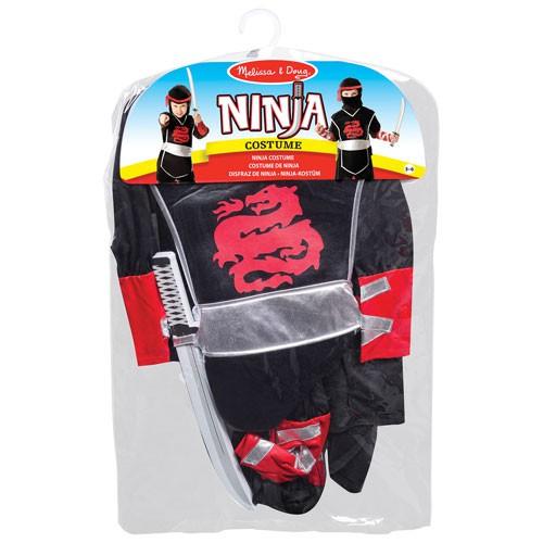 Ninja Utklädningskläder Melissa & Doug