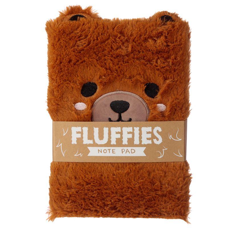 Cutiemals Fluffies Anteckningsbok Björn
