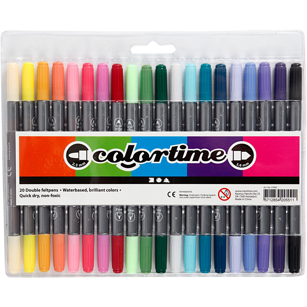 Colortime 20 st Dubbel Udd