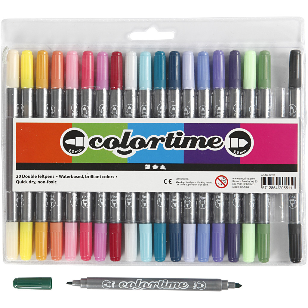 Colortime 20 st Dubbel Udd