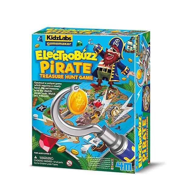 Gamemaker ElectroBuzz Pirate Tresure Hunt 4M KidzLabs