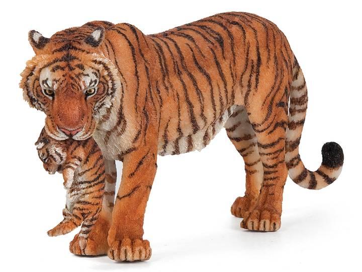 Tiger med Unge