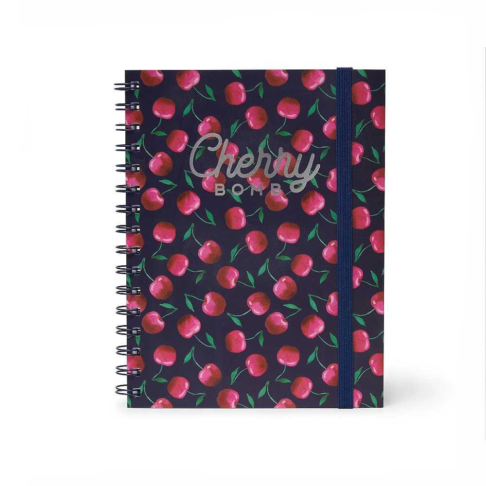 Cherry Bomb A5 Spiralbunden Anteckningsbok