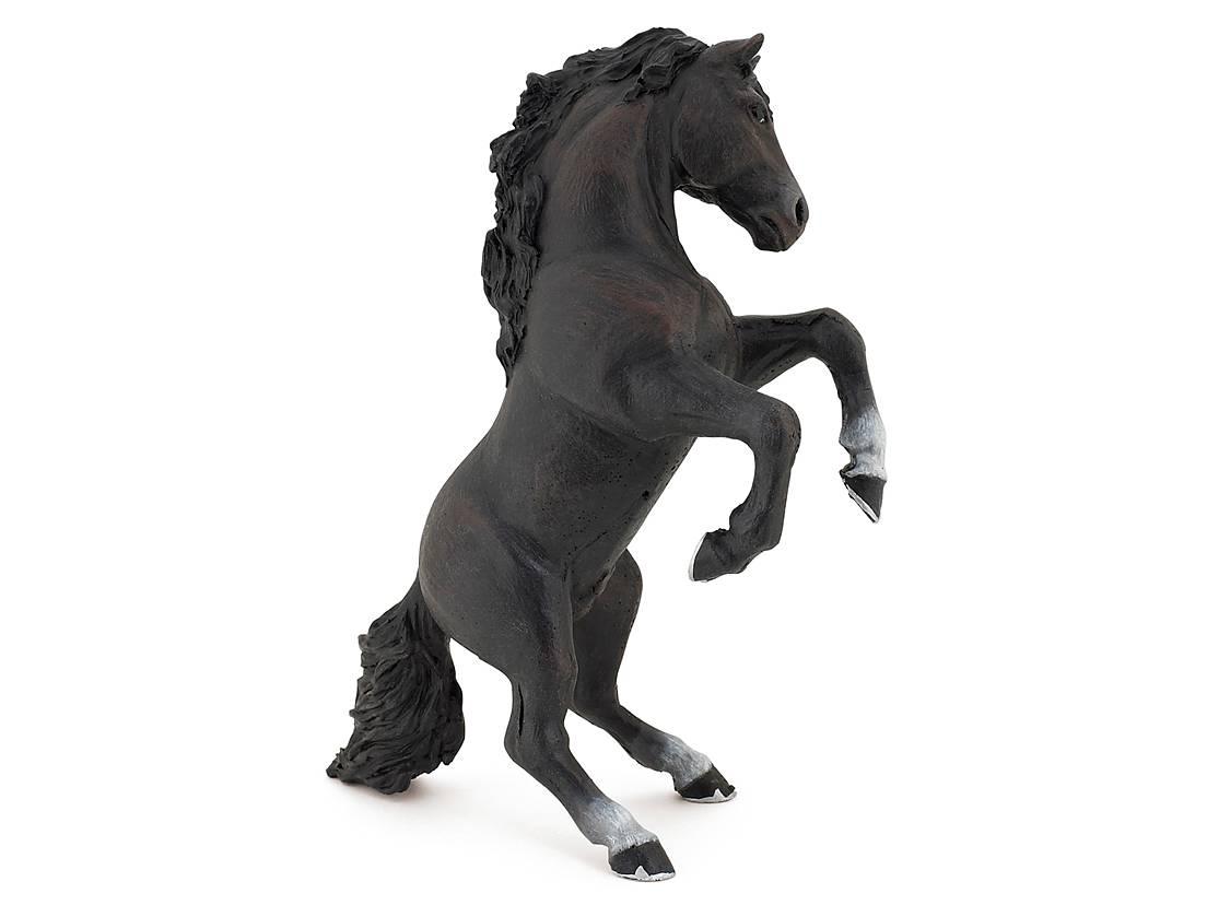 Häst Stegrande Svart