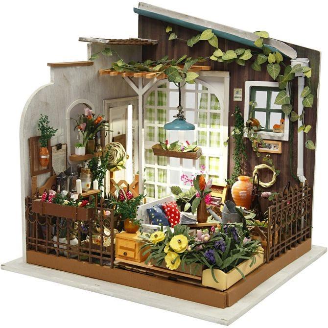 DIY Miniatyrrum Växthus