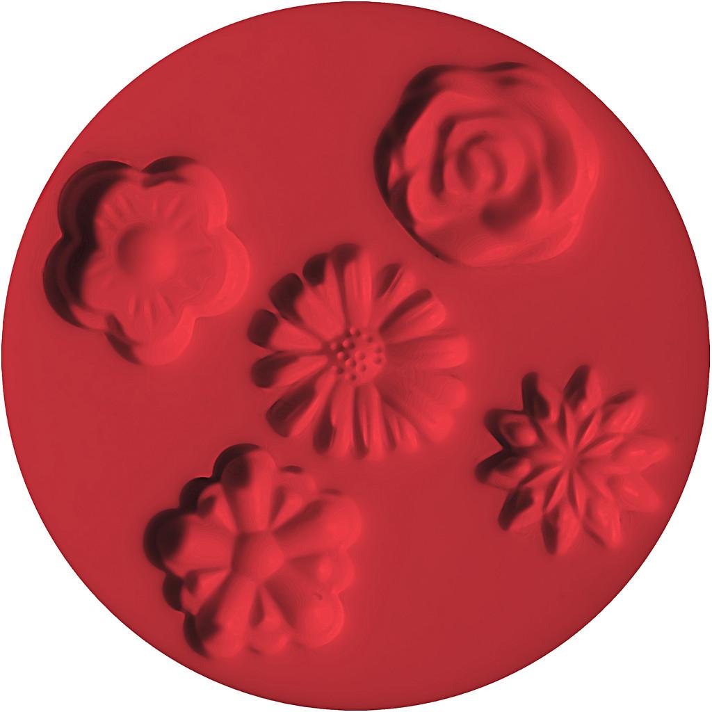 Fimo Formar, Blommor, 7 cm