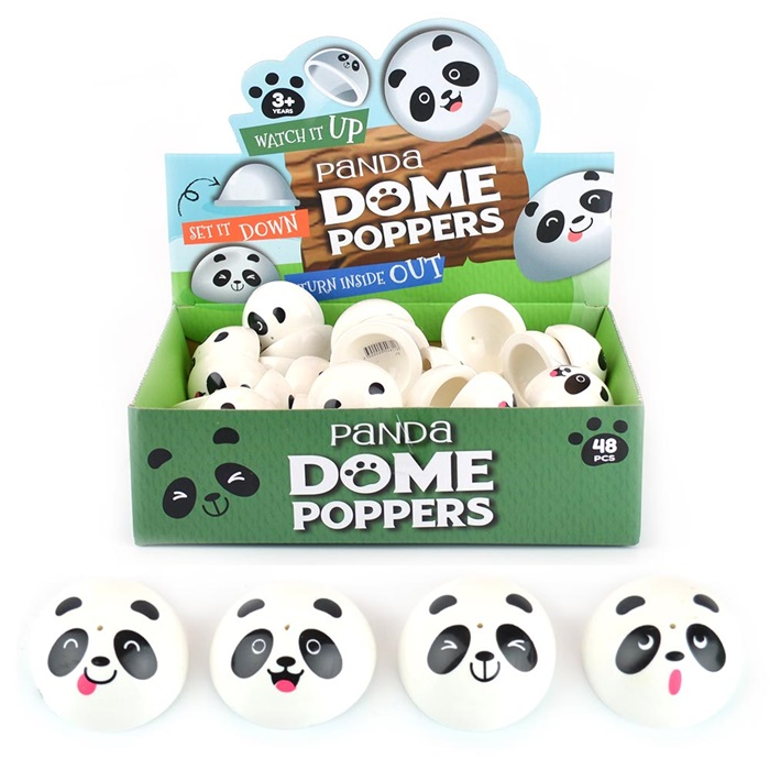Dome Poppers - Panda