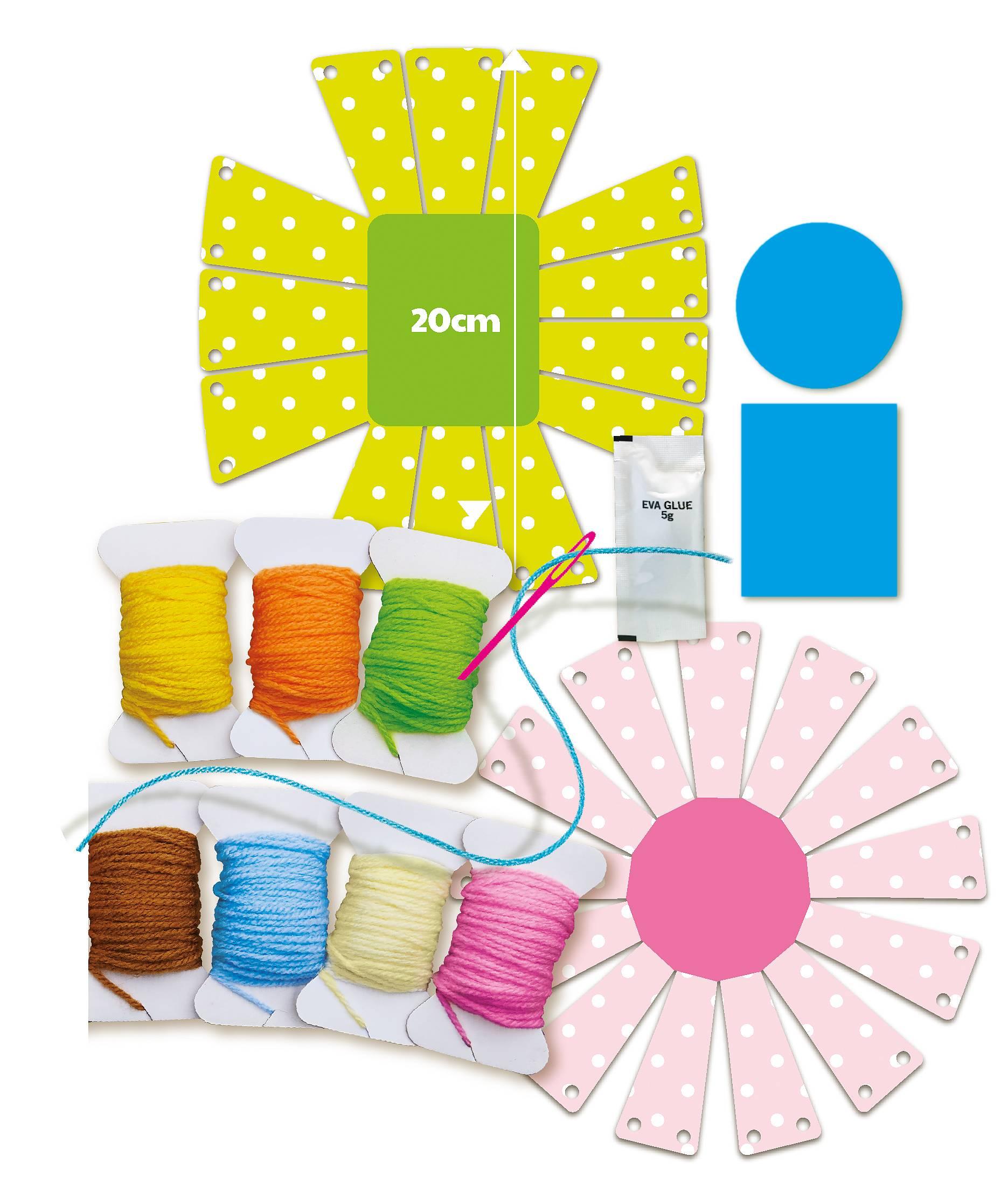 Yarn Basket Weaving Art 4M