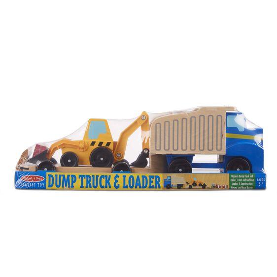 Dump Truck and Loader Melissa & Doug