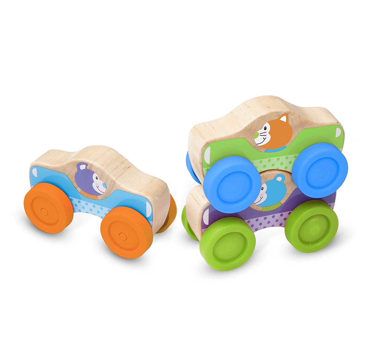 Animal Stacking Cars Melissa & Doug