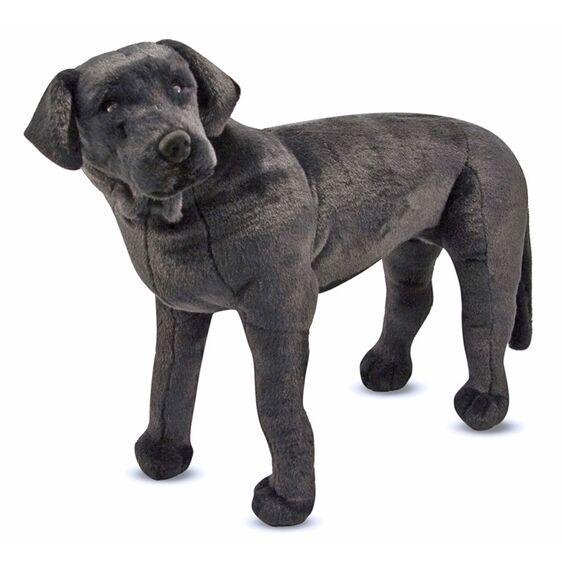 Svart Labrador i Plysch