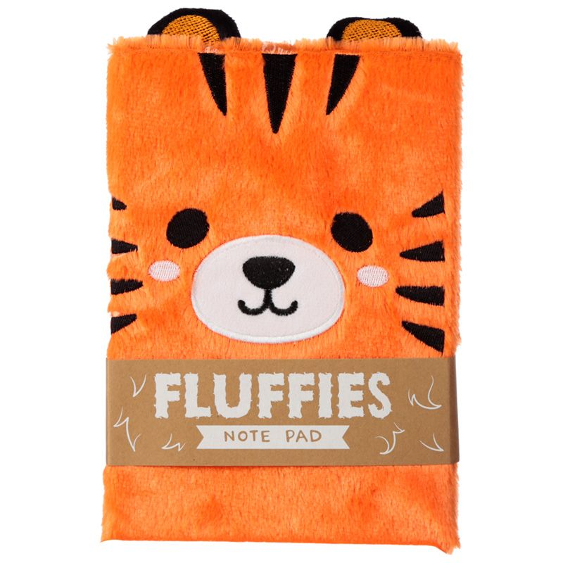 Cutiemals Fluffies Anteckningsbok Tiger