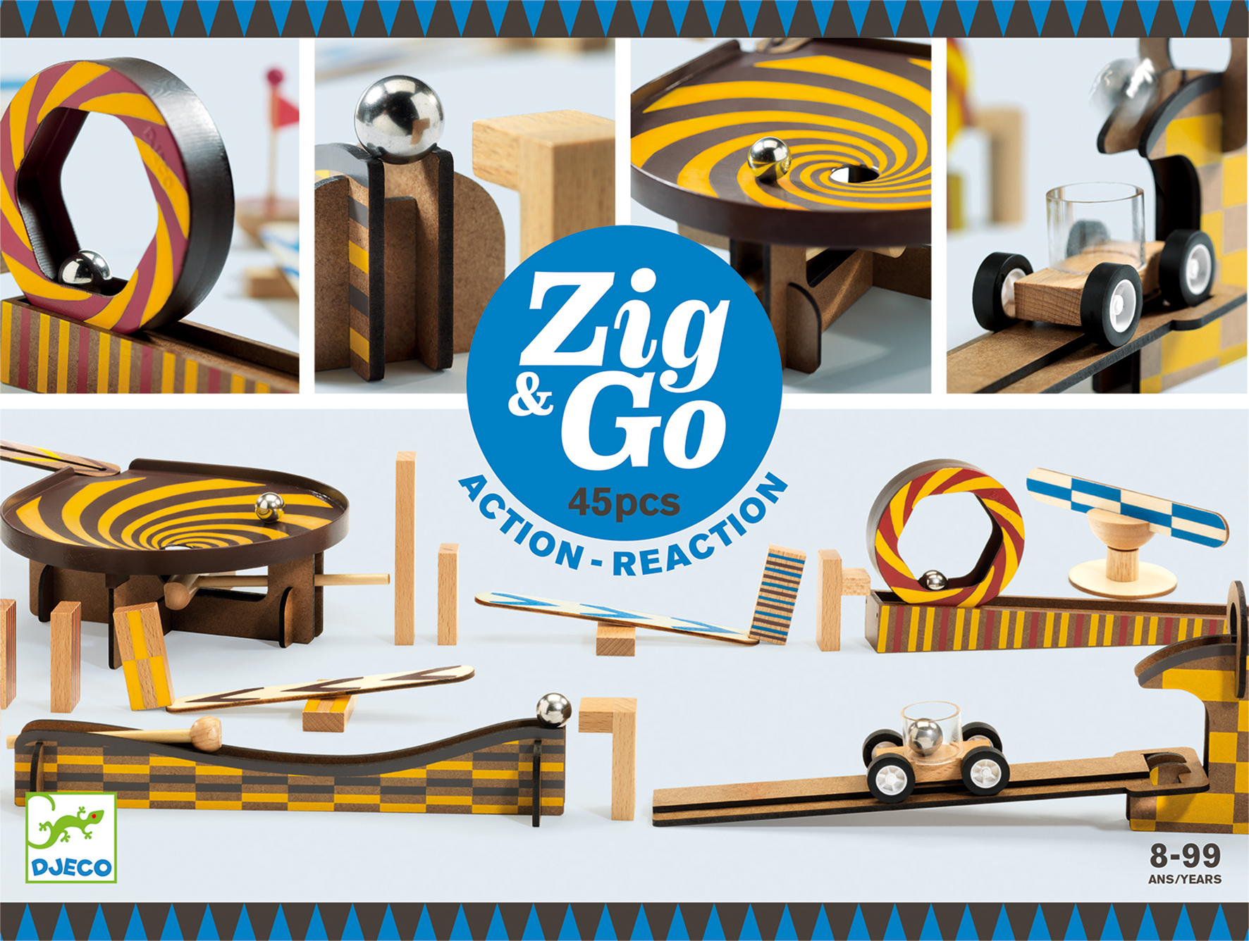 Zig and Go - 45 pcs