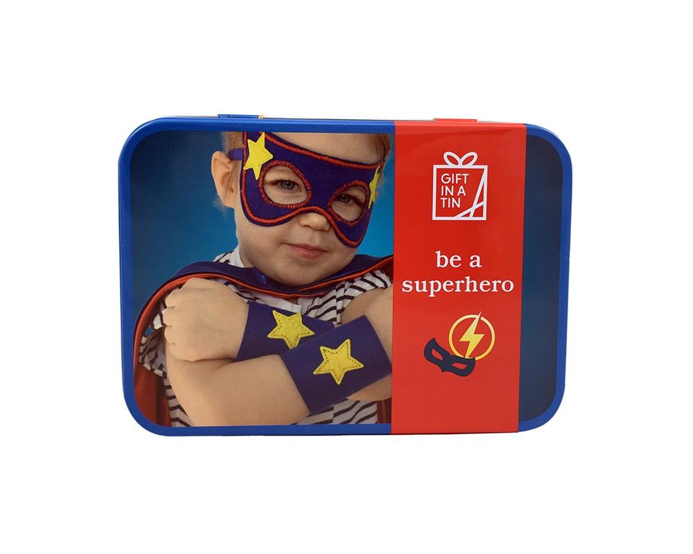 Gift in a tin - Superhjälte