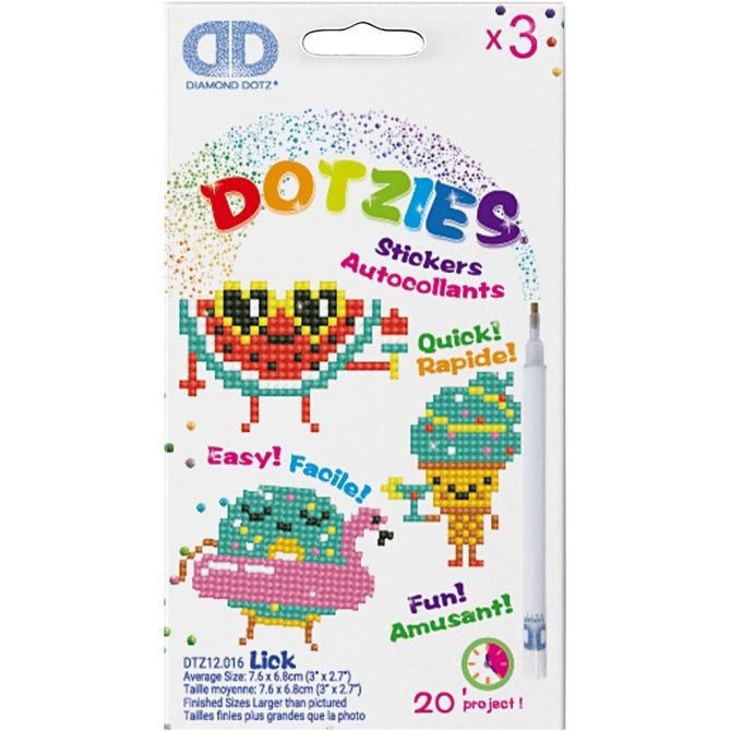 Diamond Dotzies Stickers
