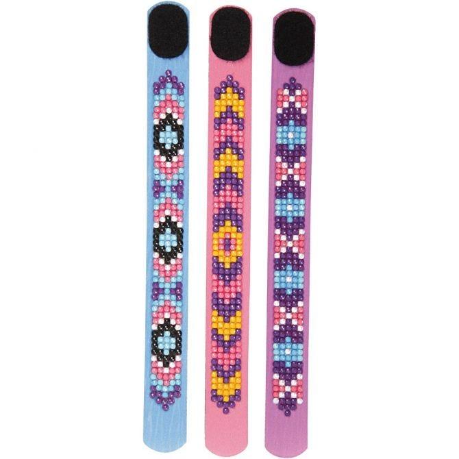 Diamond Dotzies Bracelets x 3