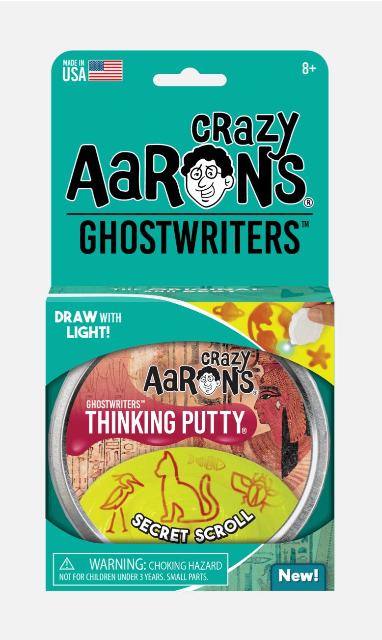Crazy Aarons Putty Secret Scroll Ghostwriter 10 cm