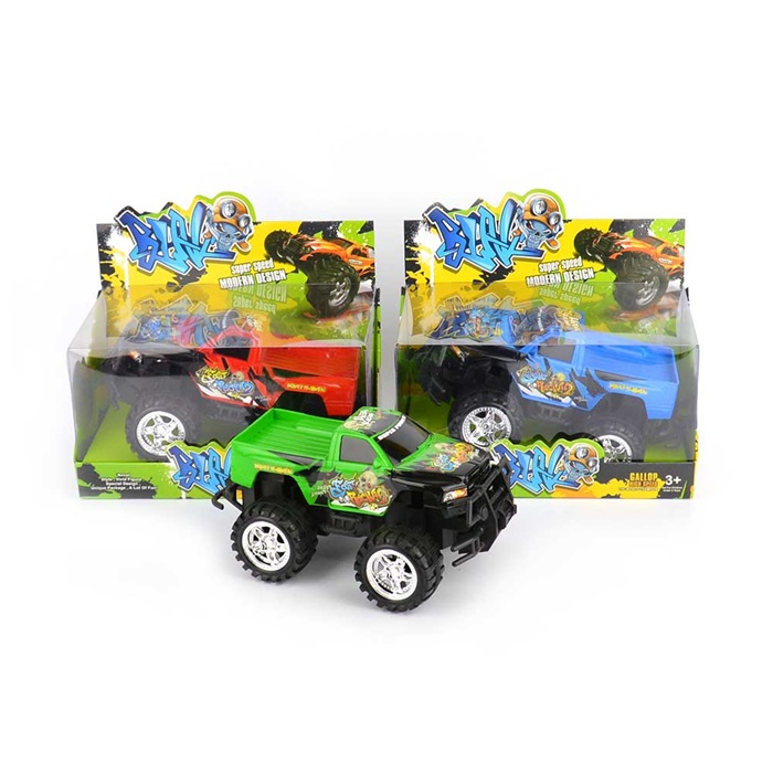 Car Monster Truck Friction 20,5 cm 1 st