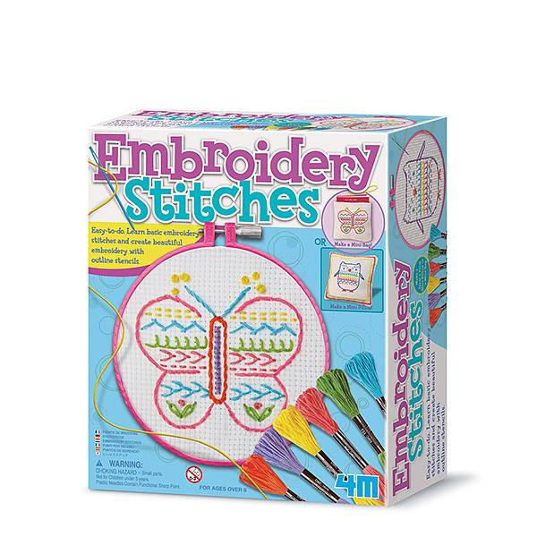 Embroidery Stiches 4M