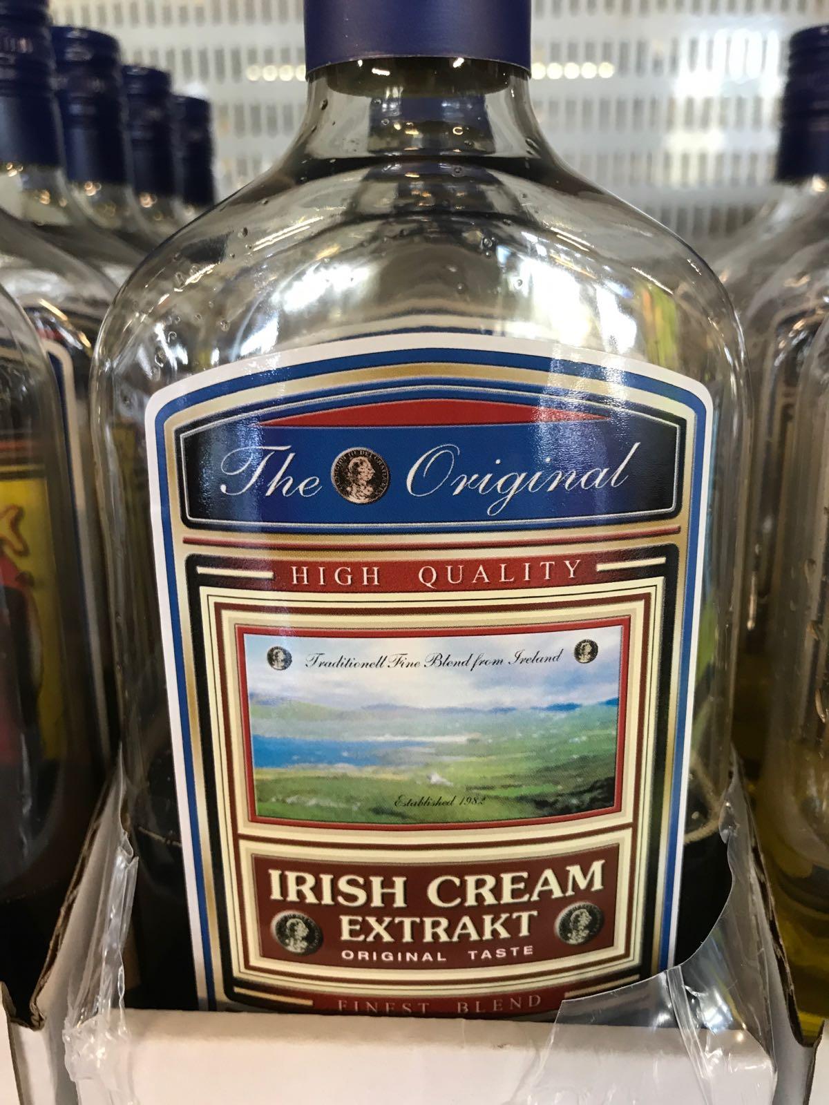 Irish cream 50 ml plast
