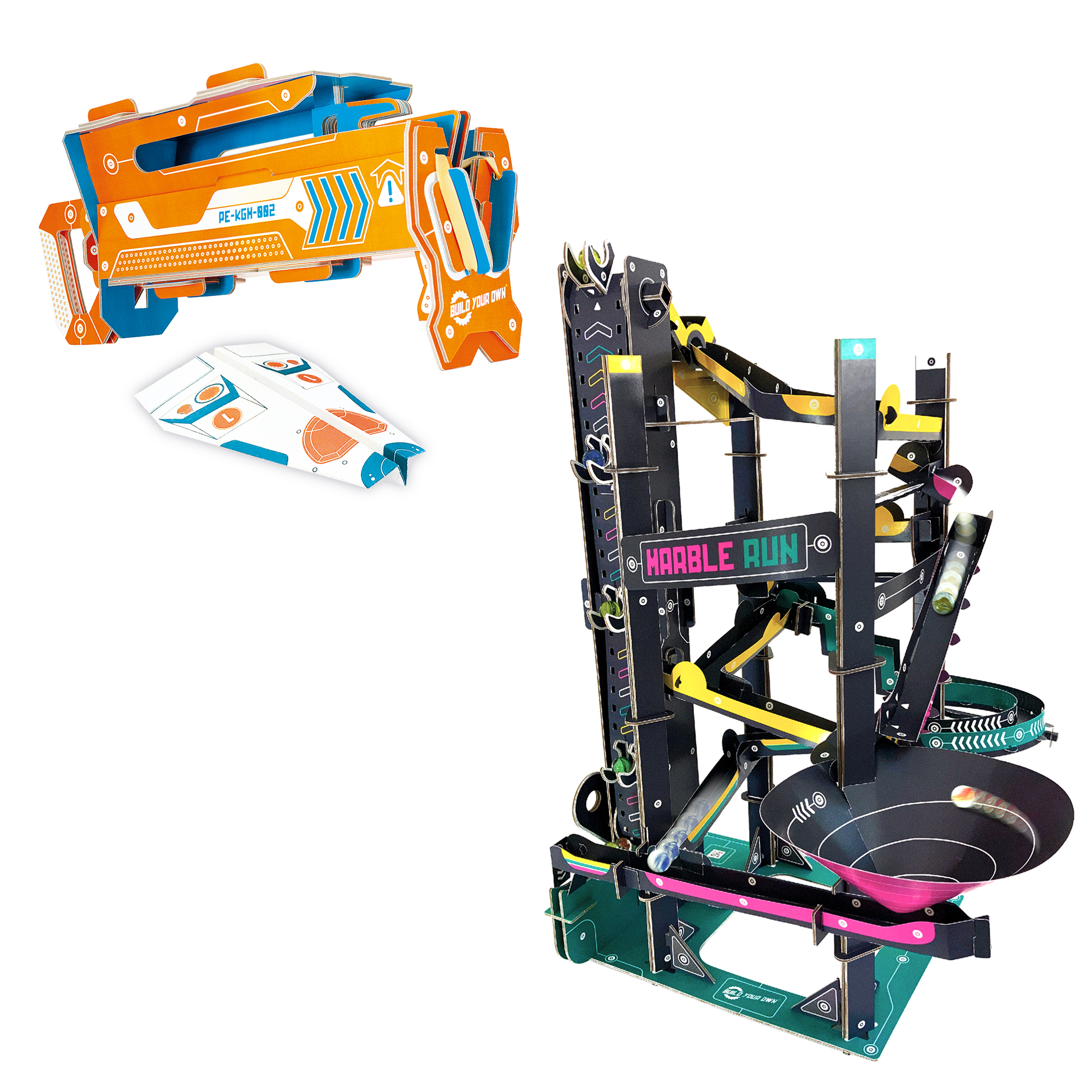 Plane Launcher and Marble Run