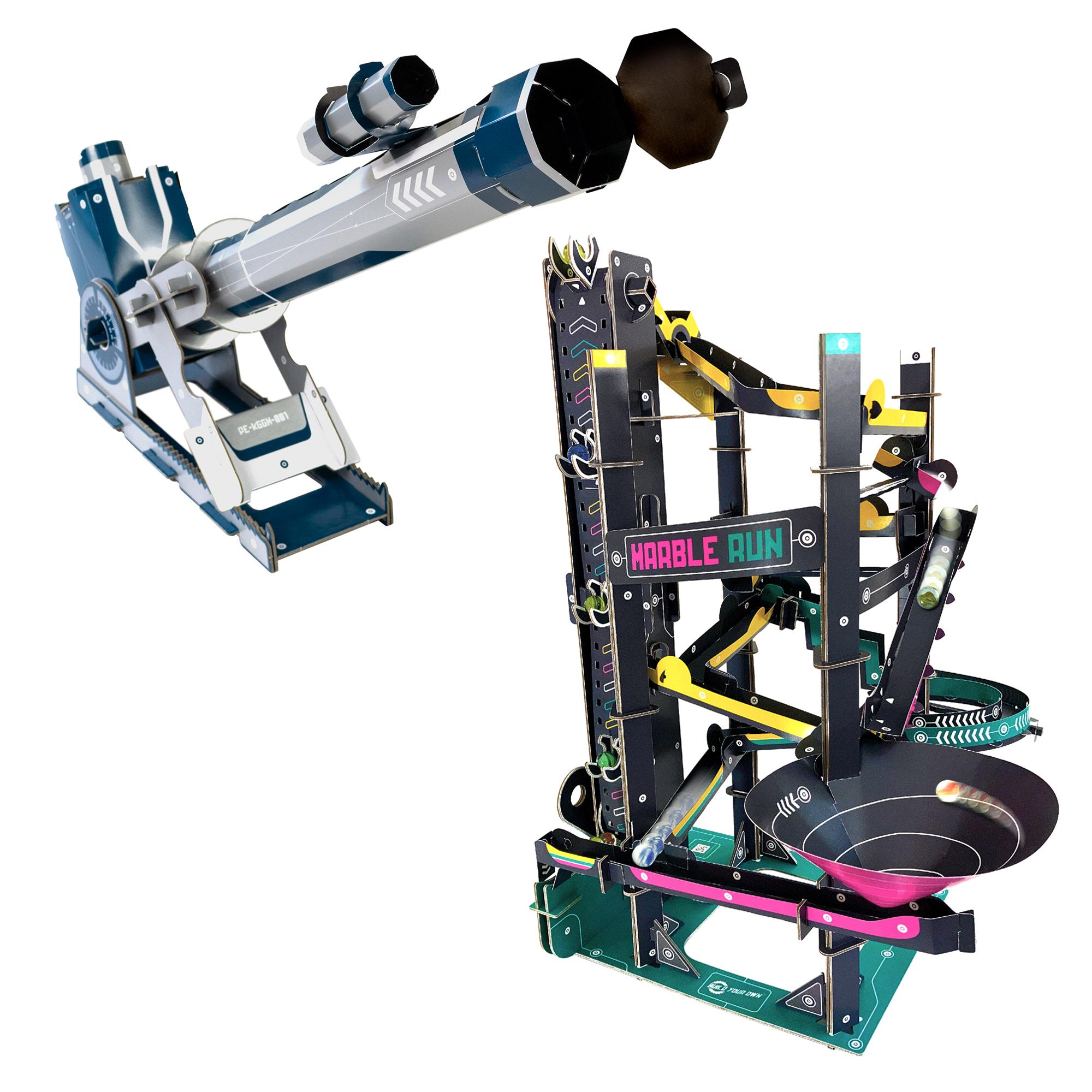 Telescope and Marble Run