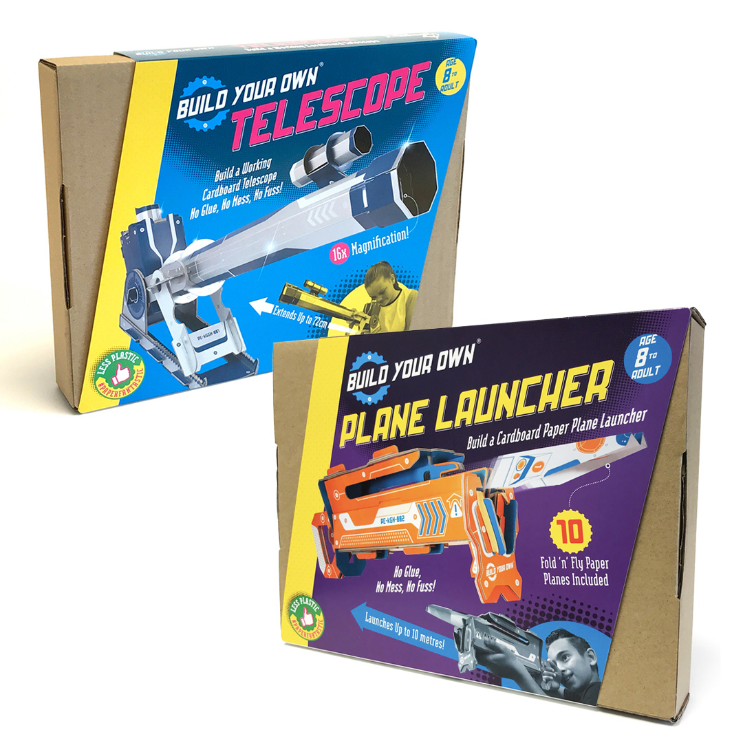 Telescope and Plane Launcher