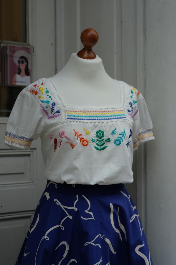 """Sugarhill, Bluse """"Alva"""", Rainbow Flower"""