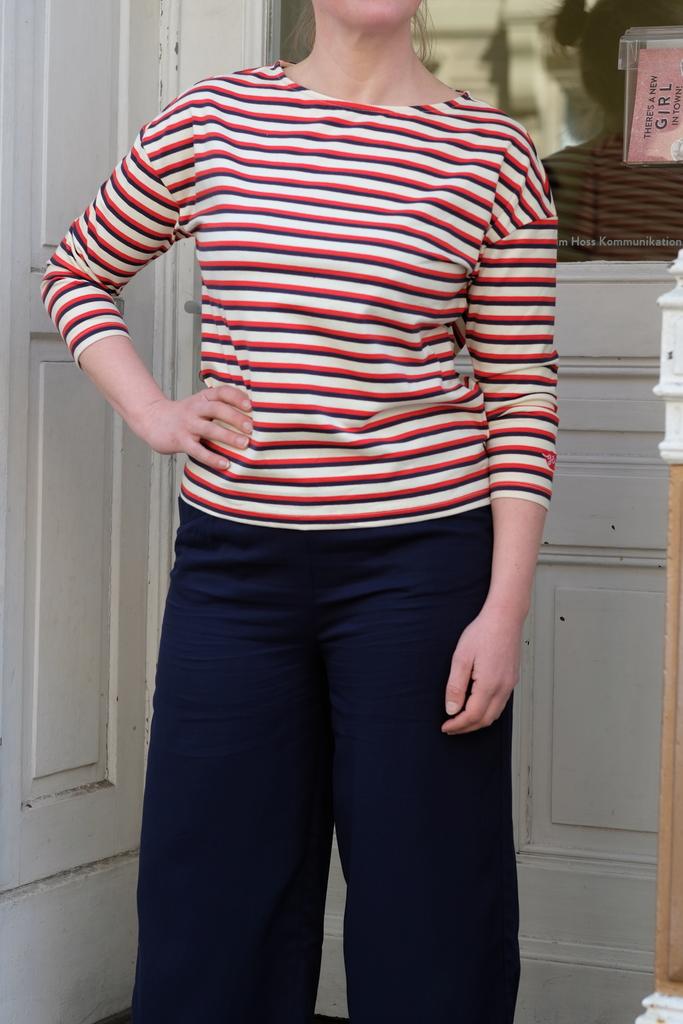 "Mademoiselle Yéyé, Shirt ""Brigitte Bateau"""