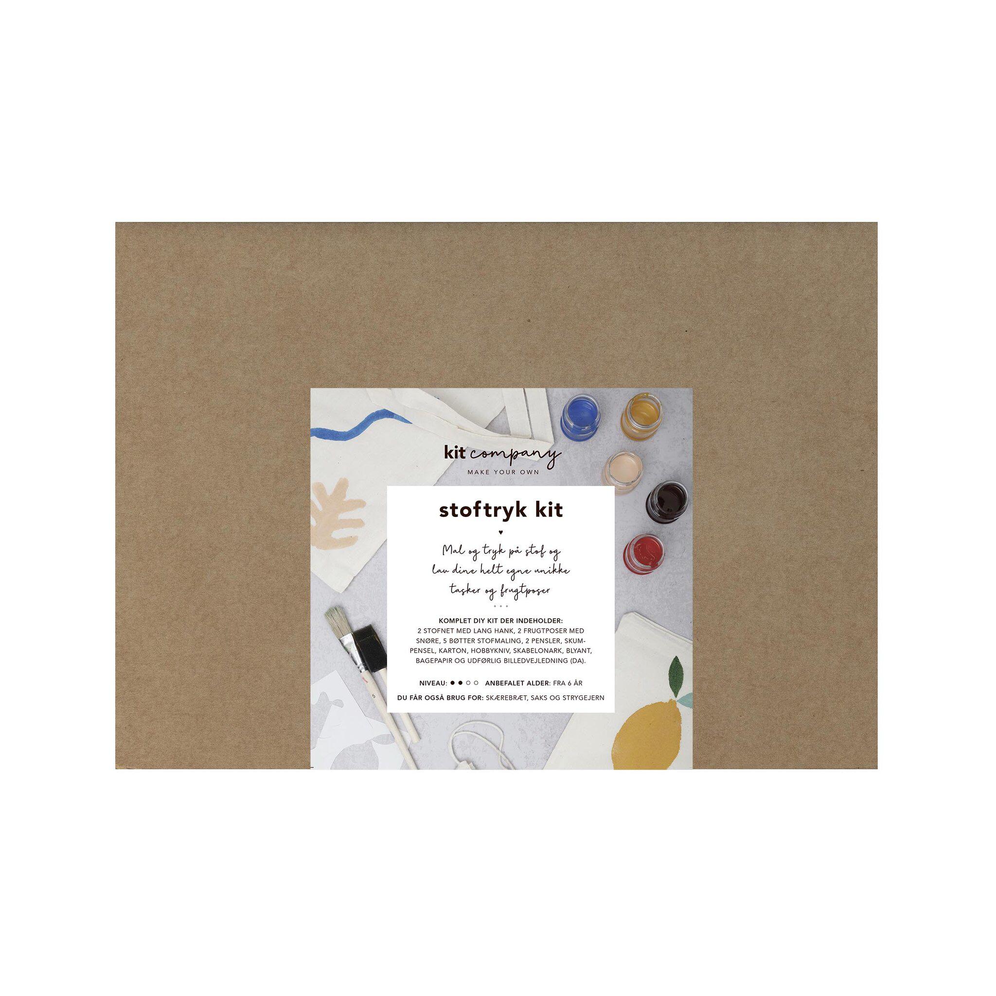 Stoftryk kit