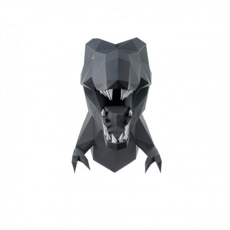 T-Rex 3D papir model