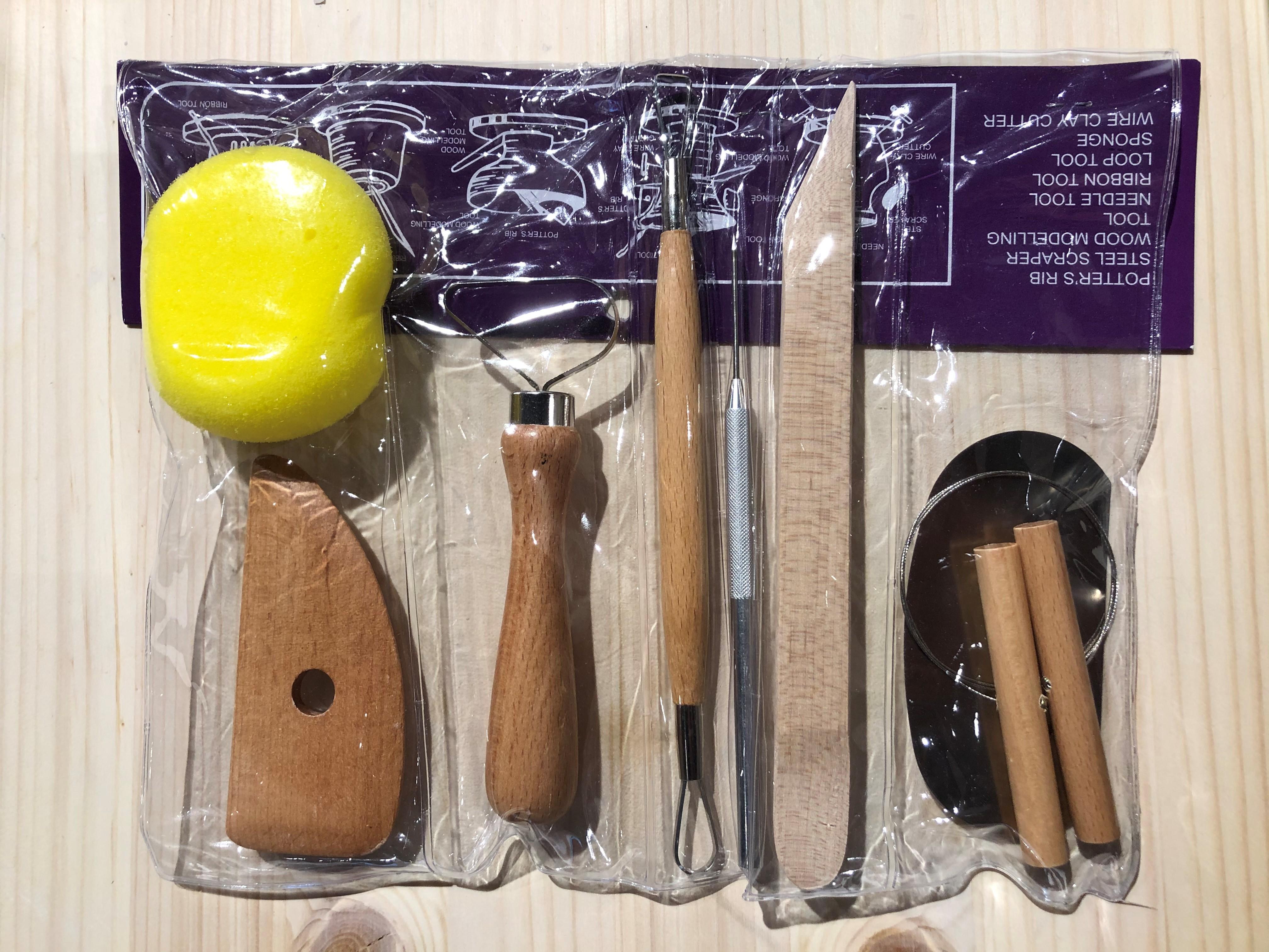 Værktøjssæt til ler