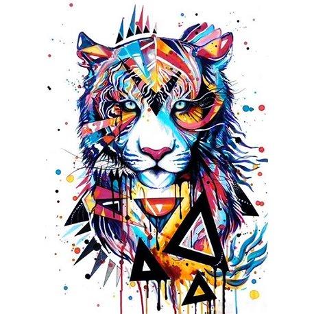 Magisk løve 5D Diamond Painting