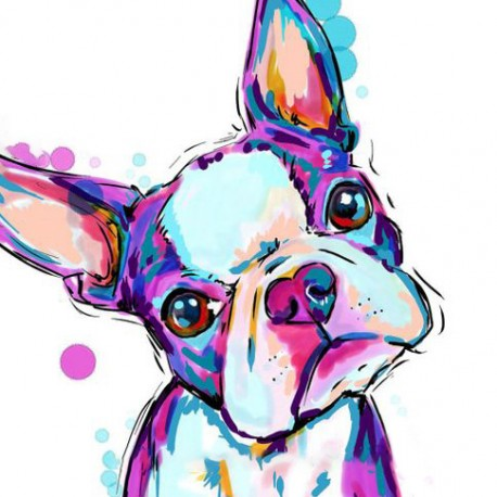 Dandy Dog 5D Diamont Painting