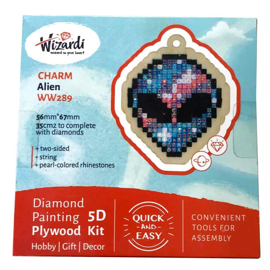 Rumvæsen 5D Diamond Paint, krydsfiner projekt